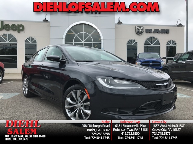 Certified Pre-Owned 2016 Chrysler 200 S