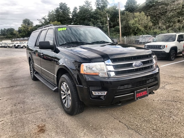 Ford Expedition El >> Pre Owned 2017 Ford Expedition El Xlt 4wd