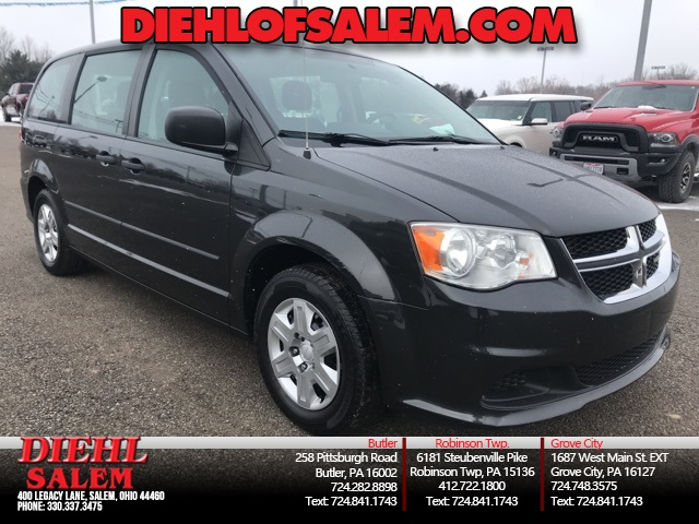 92fd5d291c Pre-Owned 2012 Dodge Grand Caravan SE AVP 4D Passenger Van in Salem ...